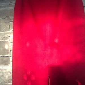 David Bitton Skirts - David Bitton long red skirt